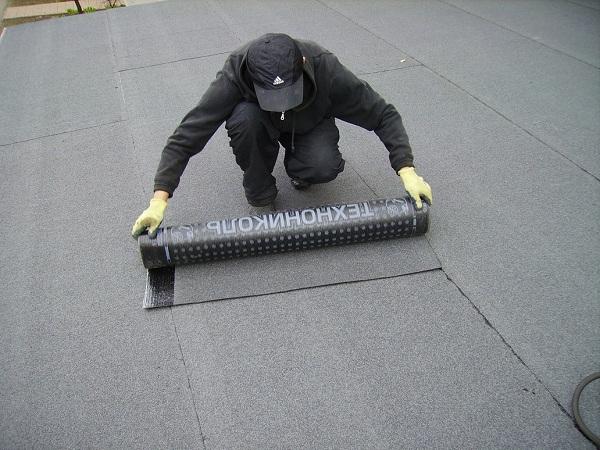 Покрыть крышу гаража бикростом